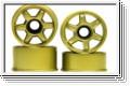 Felge 1:24, 6-Speichen,gold 8,5/11mm (4) Kyosho MZH-209GL