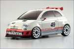 Karosse 1:24 MR-03Abarth 500 Ass. Corse Kyosho MZP-128-IW