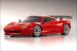 Karosse 1:24 MR-03 Ferrari 458GT2 rot Kyosho MZP-221-R