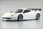 Karosse 1:24 MR-03 Ferrari 458GT2 weiss Kyosho MZP-221-W