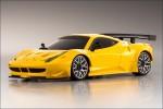 Karosse 1:24 MR-03 Ferrari 458GT2 gelb Kyosho MZP-221-Y