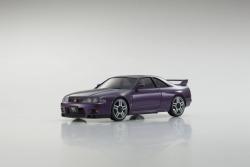 AUTOSCALE Mini-Z NISSAN SKYLINE GTR R33 V-SPEC LILA MA020 Kyosho MZP438PU
