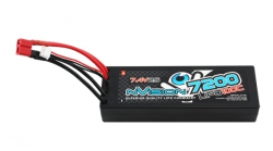 nVision Factory Pro Lipo 7200 100C 7.4V Kyosho NVO1119