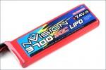 nVision LiPo 2s 7,4V 3700 20C Kyosho NVO1806