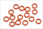 O-Ring P6 mm,orange (15) Kyosho ORG-06
