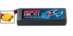 RACING DRONE LIPO 3S-2300-11.1V-55C (L105xW33xH22/185g) XT60 Kyosho ORI60237