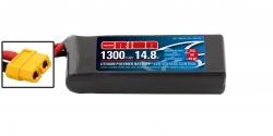 RACING DRONE LIPO 4S-1300-14.8V-75C (L72xW34xH28/155g) XT60 Kyosho ORI60244