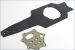 Hauptchassis Carbon Kyosho R246-3701