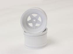 FELGEN HINTEN SCORPION 2014 WEISS (2) 2.2 inch Kyosho SCH006W
