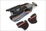 Karosserie Scorpion XXL schwarz, lackier Kyosho SXB002