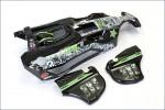 Karosserie Scorpion XXL GP schwarz, lac. Kyosho SXB102