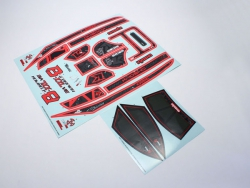 Dekorbogen ScorpionB-XXL VE Kyosho SXD002