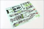 Dekorbogen Kyosho SXD101