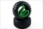 Reifen vorn+Einlage, ScorpionB-XXL (2) Kyosho SXT005