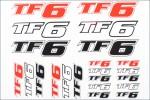 Dekorbogen TF6 Hype Kyosho TF-006
