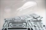 Karosserie DRX Ford Fiesta, o. L. Kyosho TRB-175