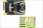 Dekorbogen DRT Kyosho TRD-111
