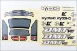 Dekorbogen DMT VE Kyosho TRD-451