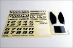 Dekorbogen DBX 2.0 Kyosho TRD-551