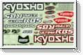 Dekorbogen Kyosho UMD-01