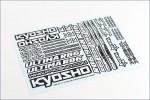 Dekorbogen Ultima RB6 Kyosho UMD-02