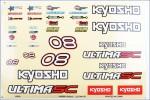 Dekorbogen Ultima SC Kyosho UMD-601