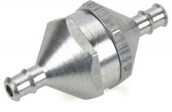 In-Line Kraftstofffilter, 29 x 11mm, silber DuBro L-DB340
