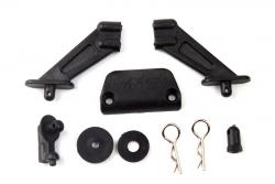 Spoilerhalter Plastikteile+Rammer-S10 BX LRP 120927