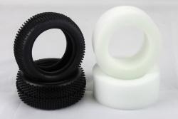 VTEC 1/10 Reifen+Einl. VA (2Stk.) S10 BX LRP 122006