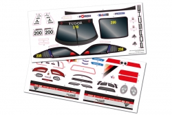 Dekorbogen S10 Blast TC Porsche GT3 Cup LRP 122034