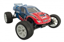 Karosserie lackiert rot/blau HD S10 TX 2 LRP 122237