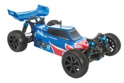 Karosserie lackiert rot/blau HD S10 BX 2 LRP 122240
