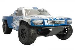 Karo lackiert blau/silber HD - S10 SC 2 LRP 122250