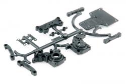 Getriebegehäuse Plastikt. - Twister LRP 124010