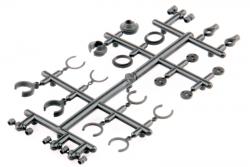 Dämpfer Plast. Kleinteile Set - Twister LRP 124022