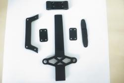 Akkuhalter Chassisverstr. Twister SC LRP 124099