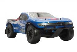 Karosserie lack. blau/rot HD Twister SC LRP 124107