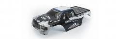 Karosserie lack. blau/weiß HD Twister MT LRP 124128