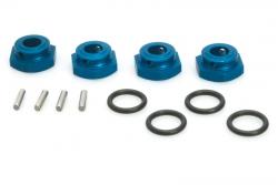 Alu Radmitnehmer blau (4Stk) S10 Blast LRP 124600