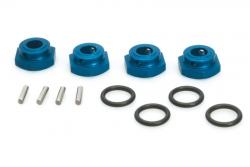 Alu Radmitnehmer blau (4Stk) S10 Twister LRP 124621