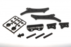 Spoilerhalter Plastikteile + Rammer - S8 LRP 132001