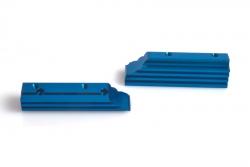 Motorhalter (blau) - S8 TX Team LRP 132220