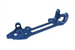 Alu vorderer Schwingenhalter hi blau S8 LRP 132352