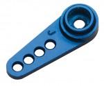 Alu Servo Horn Lenkung blau Futaba LRP 132585