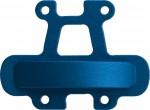 Alu Verstrebung Mitteldiff. blau S8 TX LRP 132598