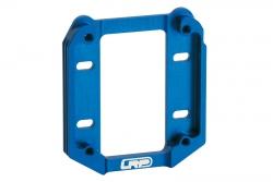 Einteiliger Alu Motorhalter (blau) S8 LRP 132624