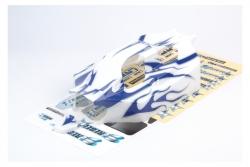 Karo lack. blau/weiß Rebel BX LRP 133025
