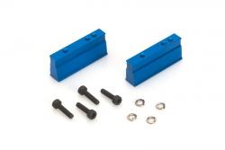 Motorhalter kurz (blau) - Rebel BX/TX LRP 133508