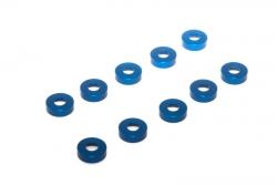 Alu U-Scheibe blau (10Stk.) LRP 134143