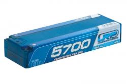 LiPo CCL Hardcase 5700 - 80C/40C - 7.4V LRP 430206